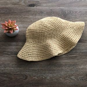 Baby Gap straw sun hat
